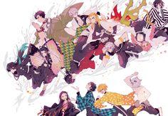 This HD wallpaper is about Anime, Demon Slayer: Kimetsu no Yaiba, Giyuu Tomioka, Gyomei Himejima, Original wallpaper dimensions is file size is Anime Demon, Anime Manga, Anime Art, Demon Slayer, Slayer Anime, Otaku, Original Wallpaper, Hd Wallpaper, Dark Fantasy