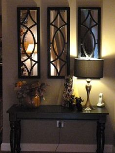 Dramatic Entry way decor