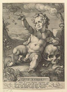 Hendrick Goltzius, 1558-1617, Dutch, Quis evadet?, 1594. Engraving, 21 x 15.2 cm. The Metropolitan Museum of Art, New York. Northern Mannerism.