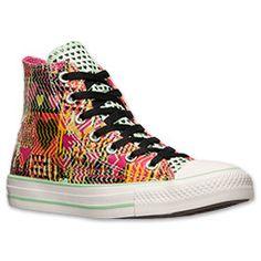 3a5df5bddc13 Women s Converse Chuck Taylor Hi Heart Print Casual Shoes