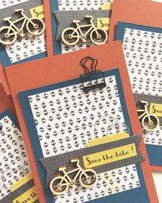 Et voilà le résultat !  And then the result !  #scrapbooking #scrapaddict #card #carte #birthday #anniversaire #surprise #fête #party #savethedate #vélo #bicycle #handmade #paper #papercraft #craft #crafter #create by mams_scrap