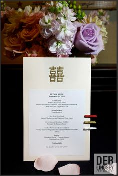 Personalized Menus at The City Club of Washington