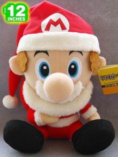 Super Mario Bros Mario Plush Doll MLPL9135