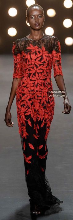 The Best Gowns of Fall 2014 Fashion Week International: Naeem Khan FW 2014 #NYFW