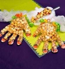 Monster Hands - fun Halloween treat idea!
