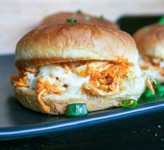 buffalo chicken sliders : a small batch recipe for two. | a flavor journal.