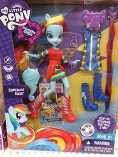 MLP Equestria Girls Rainbow Dash Doll