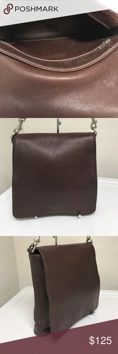 Coach bag Great condition, has both straps on, the right side of the bag has a small stain (not noticeable), inside and outside the bag able to clean, perfect messenger strap bag. Coach Bags Crossbody Bags