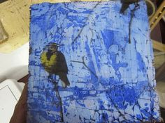 marianne's art blog: playing with plaster