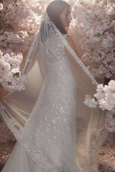 Discover our new bridal collection, 'Fallen For You', featuring tiered ruffle wedding gowns, embellished wedding dresses and soft ombre ballerina length skirts. Needle And Thread Wedding Dresses, Tulle Hair Bows, Traditional Gowns, Wedding Gowns, Tulle Wedding, Wedding Girl, Wedding Shoes, Wedding Ideas, Gowns Of Elegance