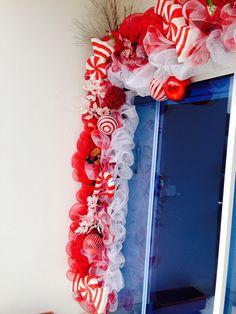 Decoracion navidad candy