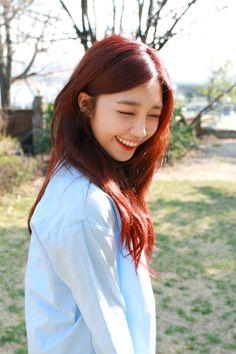 seven springs of apink ♡ South Korean Girls, Korean Girl Groups, Kpop, Eunji Apink, Seven Springs, Pink Panda, Eun Ji, The Most Beautiful Girl, Hair Goals