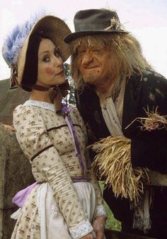 Worzel Gummidge and Aunt Sally one of my favourite childhood programmes