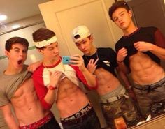 Nash Grier and the boyzzz