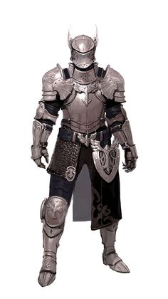 Male Human Humanoid Knight Full Plate