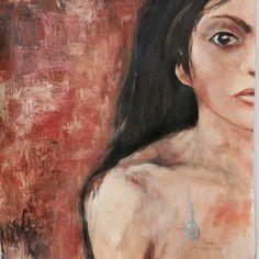 Lágrima adolescente  Acrílica sobre tecido tela  Série : fragmentos  Valor : 280 €  Autor: Lorna