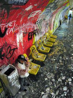 Métros Parisiens   - page 228 - Graffiti - 90BPM La Parisienne 264ef2173f42