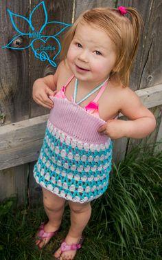 Manda Nicole's Crochet Patterns: ZigZag Swimsuit Cover
