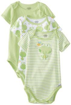 Lamaze Unisex-Baby Newborn Neutral 3 Pack Bodysuits, Frog, 0-3 Months Lamaze,http://www.amazon.com/dp/B00HRTY2VK/ref=cm_sw_r_pi_dp_LRdntb1SE38JMN76