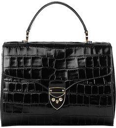 0621125edd ASPINAL OF LONDON - Mayfair leather cross-body bag