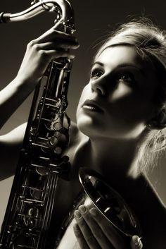 Saxophone- senior pic? Haha