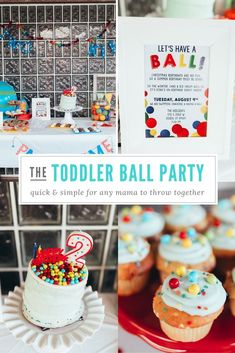 ball themed party for a 2 year old kid blogger network activities