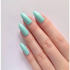 Indigo stiletto nails, Nail designs, Nail art, Nails, Stiletto nails,... ($16) ❤ liked on Polyvore featuring beauty products, nail care, nail treatments, nails, makeup and beauty
