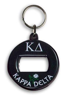 Kappa Delta BevKey Key Chain