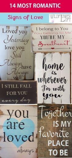 Beautiful Hand-made signs WildflowerLoft on Etsy.com