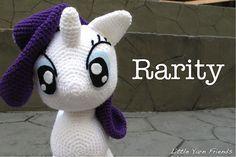 Ravelry: My Little Pony Rarity pattern by Rachel Hoe