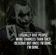 @manidrehar❤ Heath Ledger Joker Quotes, Best Joker Quotes, Badass Quotes, Wise Quotes, Mood Quotes, Motivational Quotes, Funny Quotes, Inspirational Quotes, Thug Life Quotes