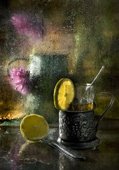 Elinka, the unsuccessful housewife — Autumn still life by RAZART Still Life Photos, Still Life Art, Dark Photography, Still Life Photography, Tea Art, Foto Art, Art Forms, Bunt, Watercolor Paintings