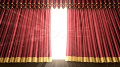 Stage Curtain 2 Ur2 HD - Stock Footage | by bluebackimage