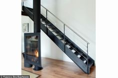 1000 images about escalier design on pinterest stairs metals and concrete stairs. Black Bedroom Furniture Sets. Home Design Ideas