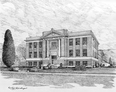 Benton                                             County - Prosser, Washington Washington Court House, Washington State, Prosser Washington, Benton County, Yakima Valley, State Court, Small Town Girl, Pacific Northwest, Small Towns