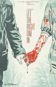 Let the Right One In alternative Poster. From Magnolia Pictures