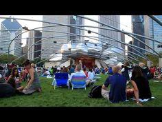 L'été au Pavillon Jay Pritzker - Hello Chicago