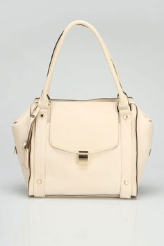 Ashleigh Double Shoulder Bag In Ivory Fashion Fashion, Fashion Bags, Designer Totes, Types Of Bag, Rich Girl, Ivanka Trump, Strike A Pose, Clutches, Wallets