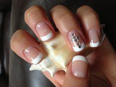 Bling cross nails