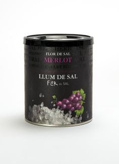 Merlot sea salt - THE BEST on red meat.......