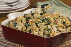 Chicken and Kale Casserole | EverydayDiabeticRecipes.com