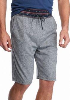 Brooklyn CLOTH Mfg. Co.  Stars Print Ribbed Jogging Shorts