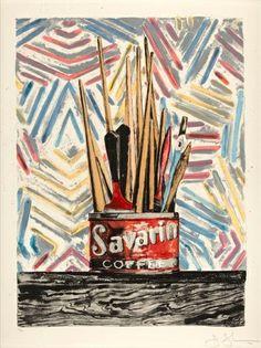 Jasper Johns, Savarin