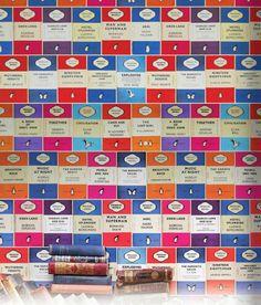 PENGUIN BOOK COVER WALLPAPER - Osborne & Little