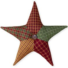 Patchwork Star Tree Topper