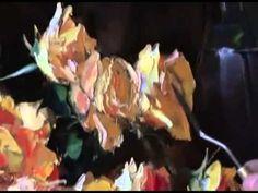 Artist Igor Sakharov. Yellow Rose Bouquet