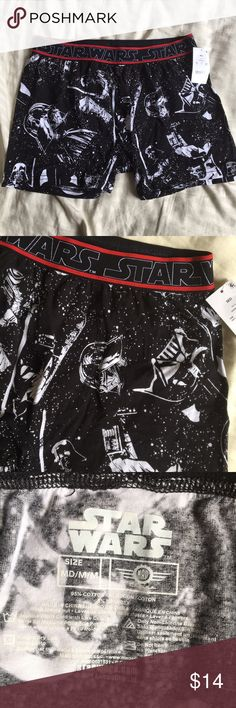 NWT Men's Star Wars Boxers Brand new with Tags! Size M. Star Wars Underwear & Socks Boxers