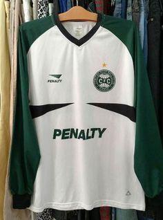 9c3c35201421b Camisa do Coritiba Foot Ball Club Usada Original Material esportivo Penalty  Tamanho G mas ATENÇÃO segue