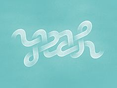 YEAH ambigram byRimantas Juškaitis