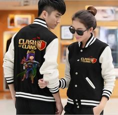 Clash of Clans mens sweatshirt Archer Queen COC game baseball jackets